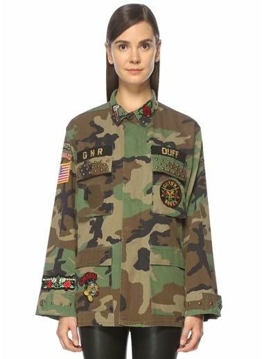 Madeworn Askeri Ceket Renkli